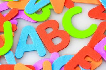 ABC im Buchstaben-Wirrwarr
