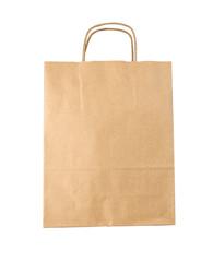 Blank brown paper bag