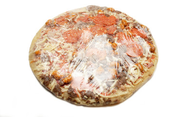 Store Bought Packaged Meat Lovers Pizza