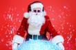 Leinwanddruck Bild - santa mix-master