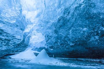 Iceland, Vatnajokull, Ice cave