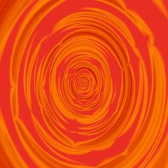 Abstract red orange circular centralized background