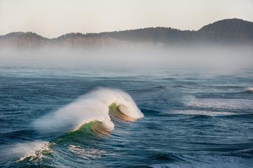 Waves on sea