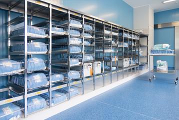 Germany, Storage room equipment