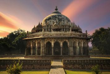 India, Delhi, Isa Khan Niyazi's Tomb