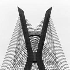 Brazil, Sao Paulo State, Sao Paulo, Estaiada Bridge