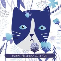 Happy birthday gift card.