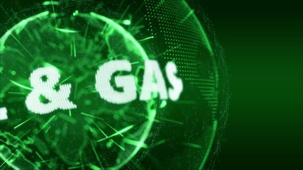 World News Oil and Gas Intro Teaser green