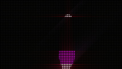 LEDS Disco dancer with alpha channel