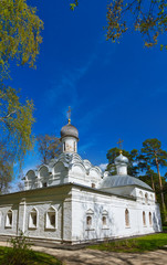 Old church in Museum-Estate Arkhangelskoye - Moscow Russia