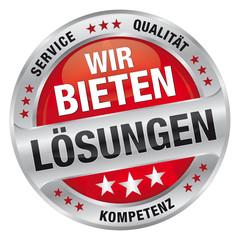 Wir bieten Lösungen Partner - Service, Qualität, Kompetenz
