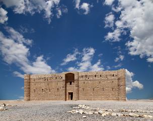 Qasr Kharana, desert castle in eastern Jordan