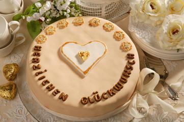 Glückwunsch-Torte