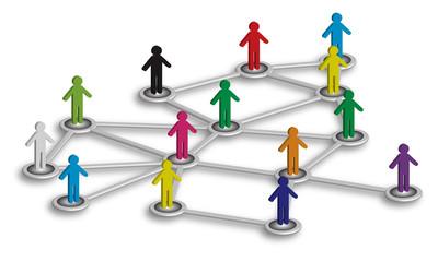 Network di persone