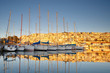 Yachts in Mikrolimano marina in Athens, Greece. - 78463794