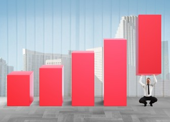 Business strongman lifts statistics