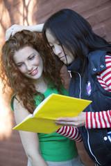 Happy Friends Reading