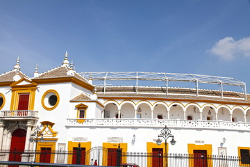 Bullring, Plaza de Toros de la Maestranza, Seville, Spain