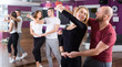 people having dancing class - 78465714