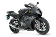 Black sport motorcycle - 78465781