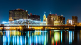 Newark, NJ cityscape by night - 78466177