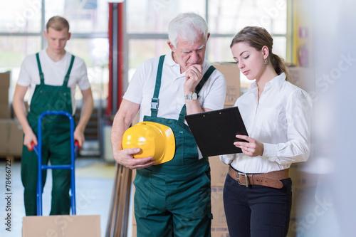 Older employee