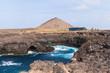 Waves crashing on the rocks of Sal island, Buracona - Cape Verde - 78467185
