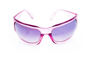 Women glamorous pink sunglasses