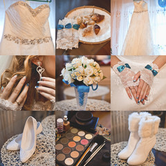 wedding accessories, bride
