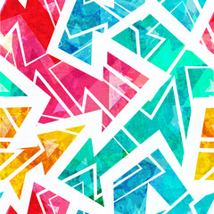bright arrow seamless pattern