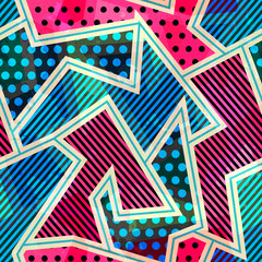 bright cloth seamless pattern