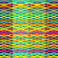 bright rainbow seamless pattern