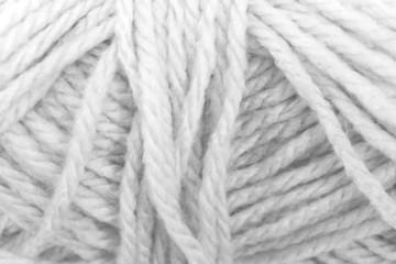 Cream yarn texture White color