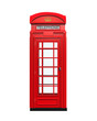 British Red Telephone Booth - 78469920