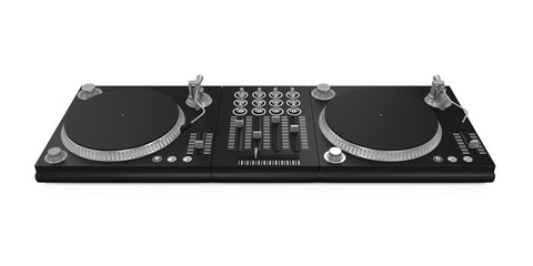 DJ Turntable Isolated