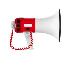 Loudspeaker or Megaphone Isolated