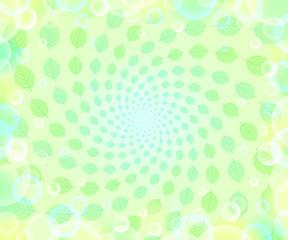 新緑 スパイラル バブル1