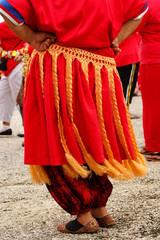Detail of traditional tongan skirt