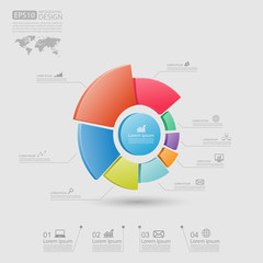 Business Infographic,vector