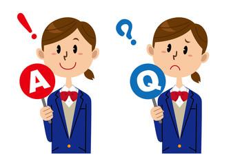 女子学生 Q&A