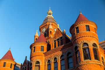 The Dallas County Courthouse
