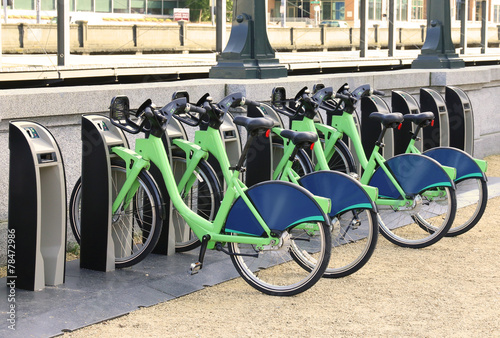 Rental bike City bikes for rent Rental bicycles dockmotor - 78472986