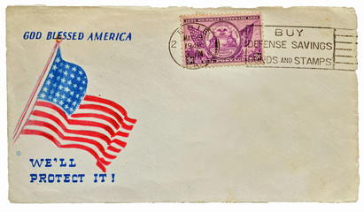 Old letter from USA