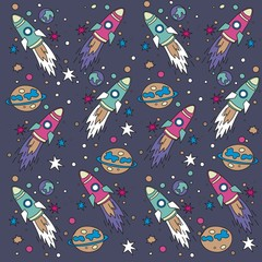 spaceship pattern design