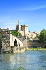 St.-Benezet bridge in Avignon, France