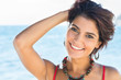 Smiling Woman In Summertime