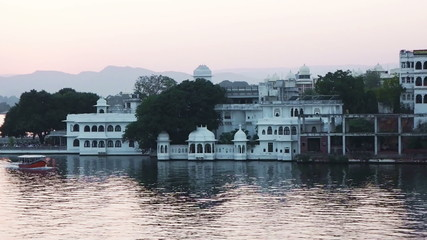 Passenger boat in Lake Pichola