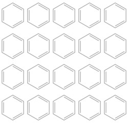Seamless chemical benzene background