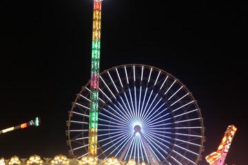 Ferris wheel with heart