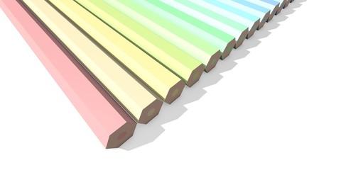 Kleurpotloden perspectief